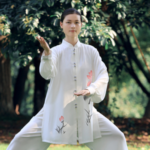Tai chi clothing chinese kung fu uniforms Women new style of elegant Tai Chi Clothingquan training clothing