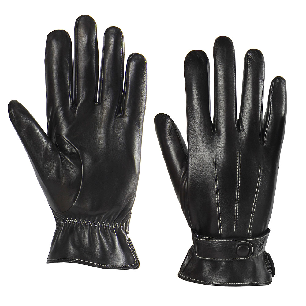 Mens leather kid gloves -  Lightbox Moreview Lightbox Moreview Prevnext Warmen Leather Gloves Men