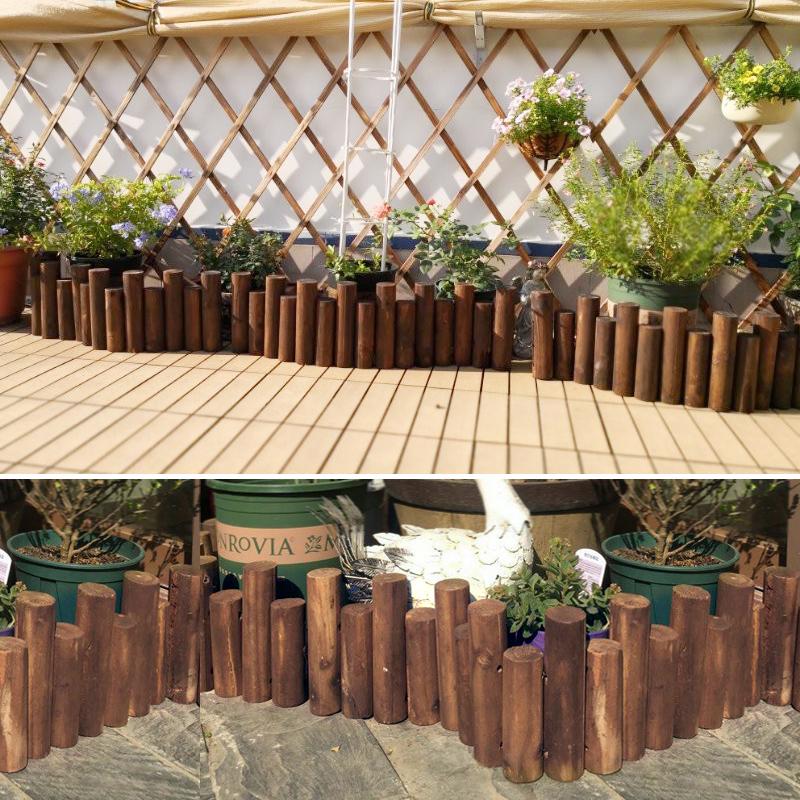 Buy Courtyard anticorrosive wooden fence fence fence ...