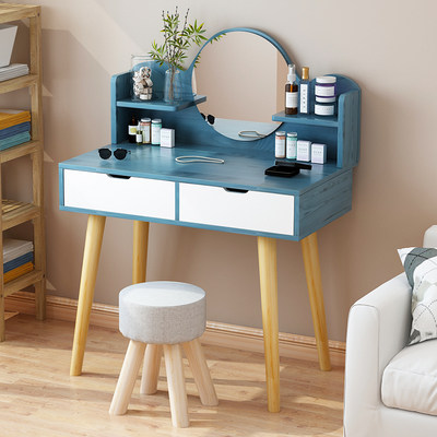 Net red dressing table bedroom small apartment minimalist modern cosmetic table economical dressing cabinet mini simple dressing table