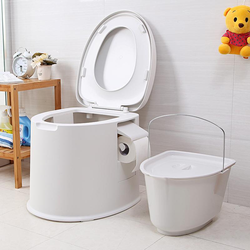 USD 81.09] Sitting toilet seat elderly pregnant adult toilet seat ...