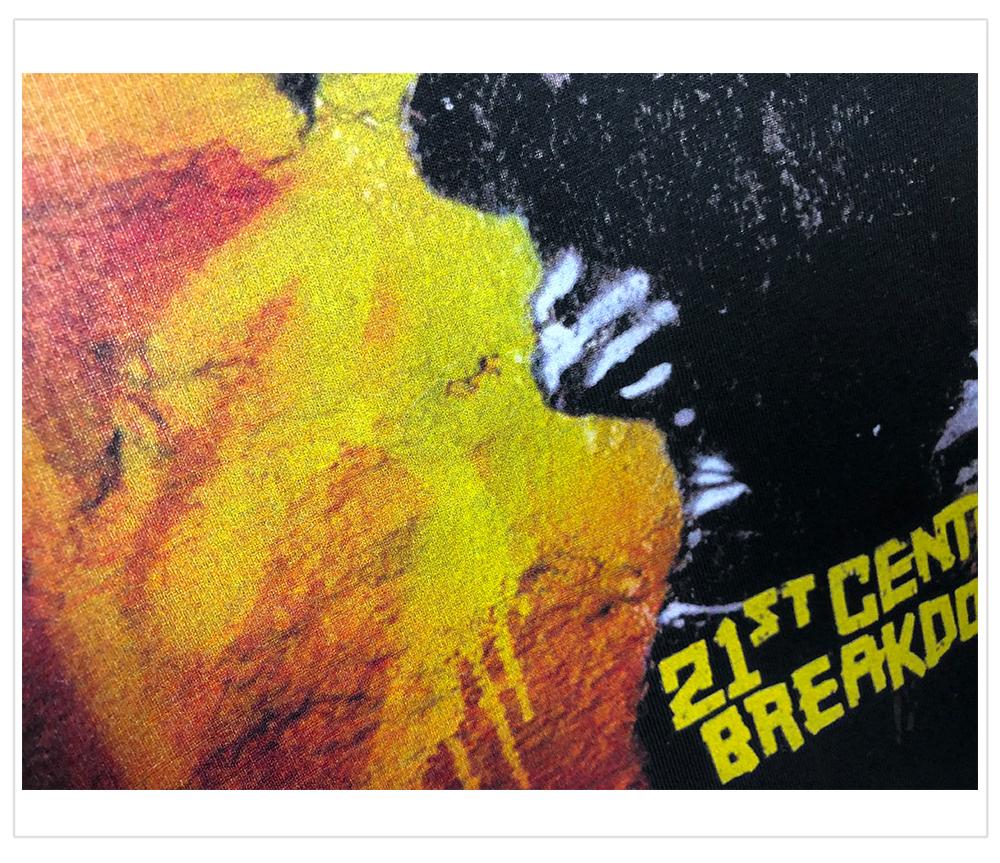 Green Day綠日朋克21st Century Breakdown專輯封面印花搖滾T恤