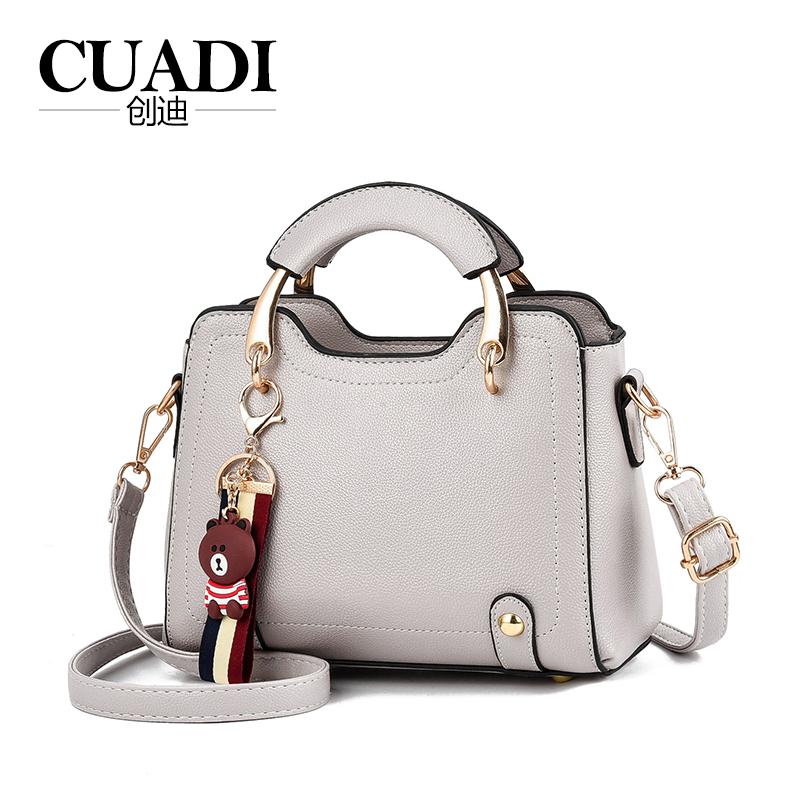 CUADI/创迪翅膀包包女2020新款夏天小清新百搭时尚手提单肩斜挎包