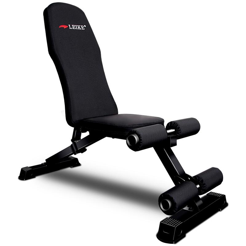 雷克专业哑铃凳家用健身凳多功能腹肌板仰卧板商用卧推凳小飞鸟