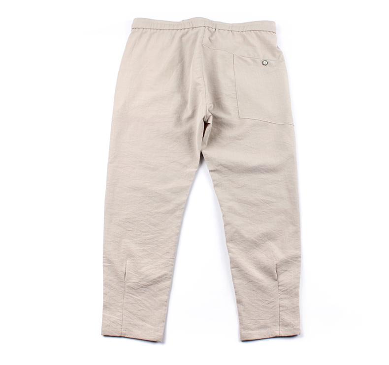 Mùa hè mới mỏng chất liệu triều chân chất béo nhỏ đàn hồi lớn cộng với phân bón XL của nam giới thường chín quần
