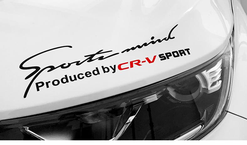 Tem dán trang trí xe Honda CRV - ảnh 19