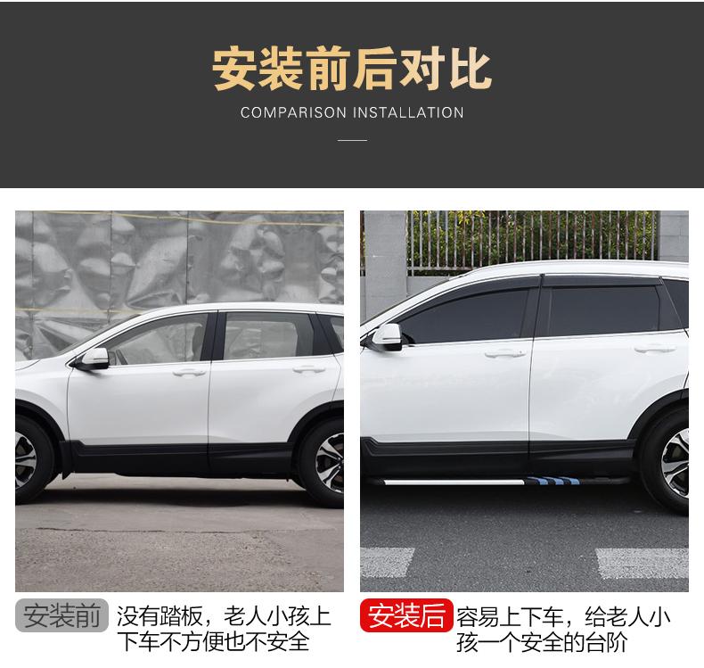 Bệ bước chân Honda CRV 2018 - 2020 - ảnh 6