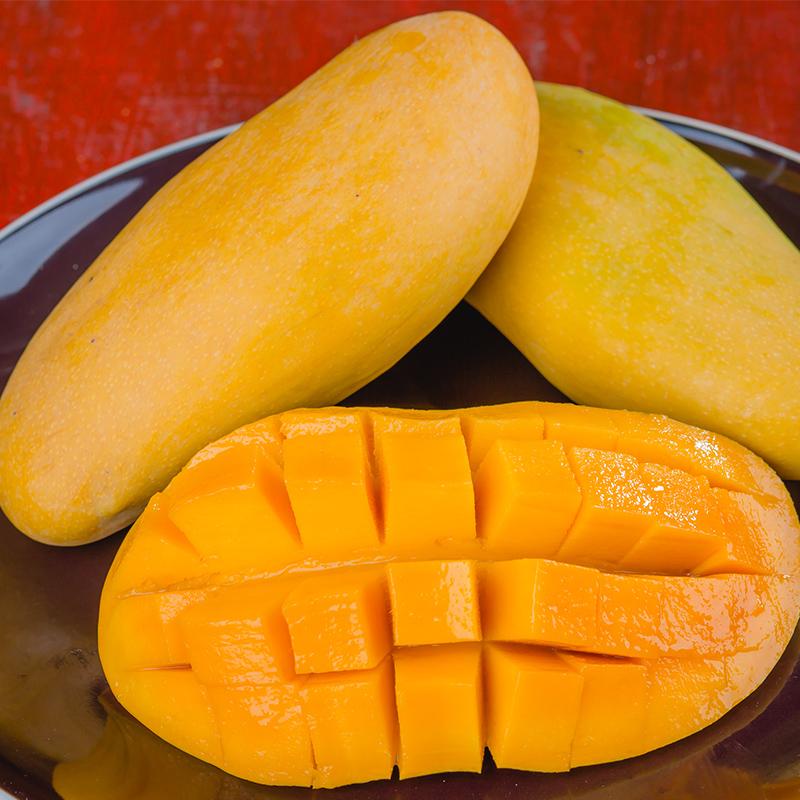 泰国释迦摩尼芒果进口包邮5斤