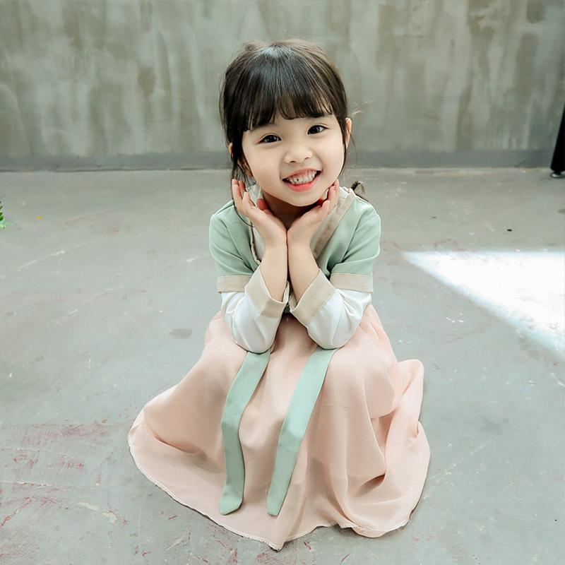 【樱花汉服】超仙洋气纱袖连衣裙