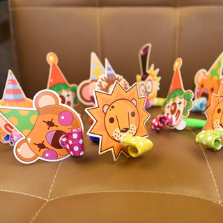 Birthday party blowing dragon roll blow whistles add to the fun boys and girls children's creative cartoon birthday horn whistle