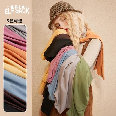 taobao agent 【The New】Leprechaun's pocket high neck slim-fit sweater women's 2020 winter basic inner pullover bottoming shirt