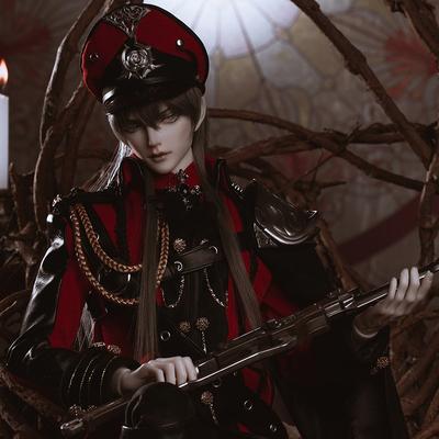 taobao agent Ringdoll ring human form Asifford military uniform official genuine original BJD doll SD uncle male