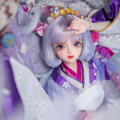 taobao agent Ringdoll ring human form Miu folding ear cat Yunmenglu BJD doll SD female 4 points official original genuine