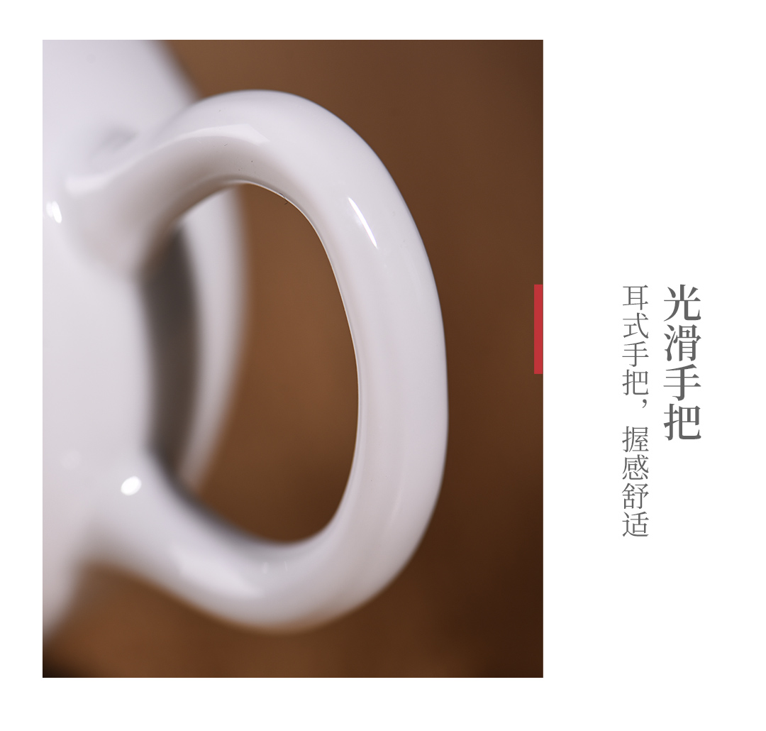 The Story of pottery and porcelain tea sets of household light cup high - grade gift boxes Chinese key-2 luxury office receive a visitor kung fu tea set