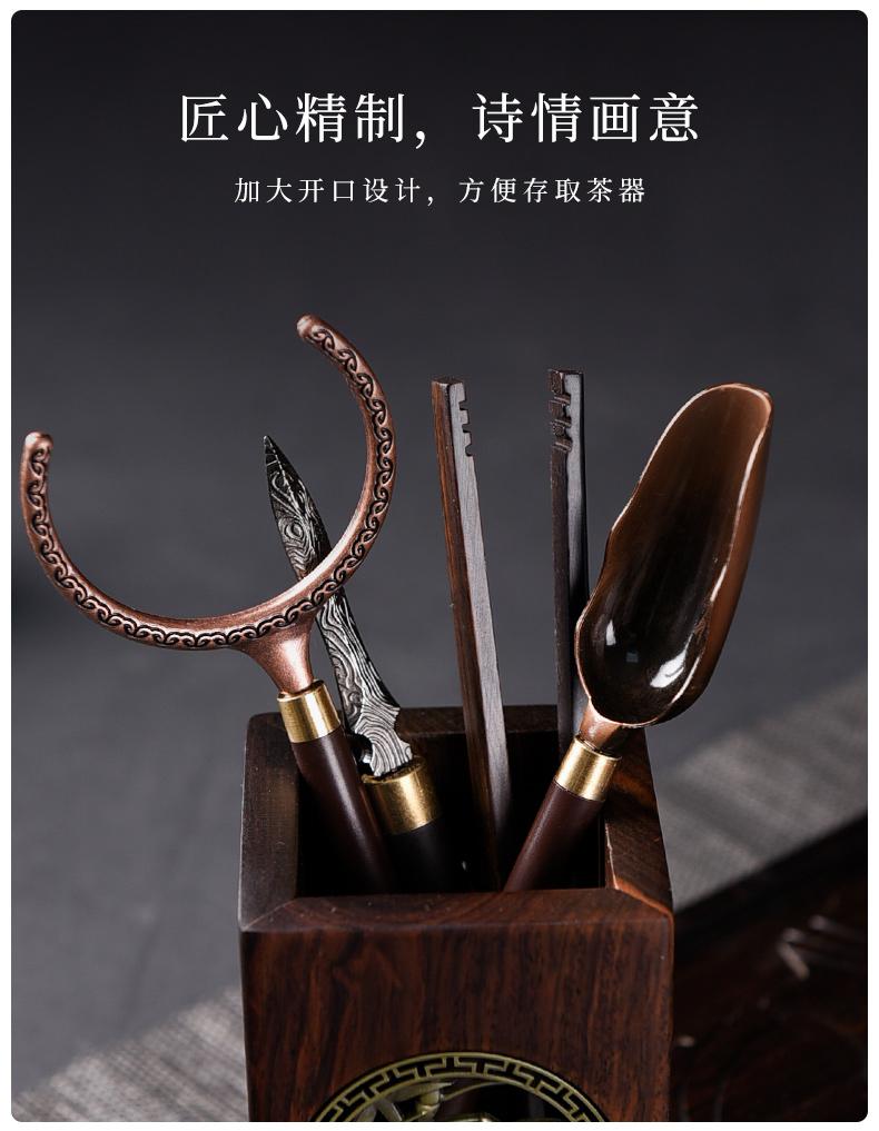 Ceramic story of bamboo tea 6 gentleman 's suit kung fu tea accessories ChaGa tea tea knife tools home