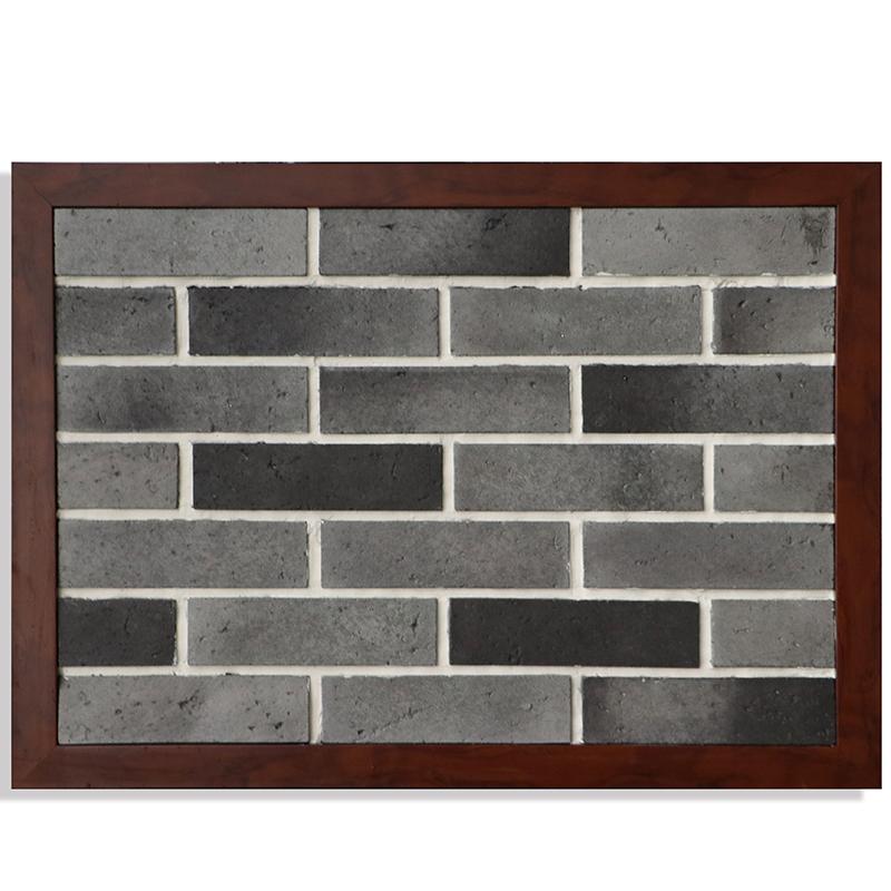 化砖瓷砖灰色围墙室外文化石乡村外墙砖青砖中式仿古砖别墅墙砖文