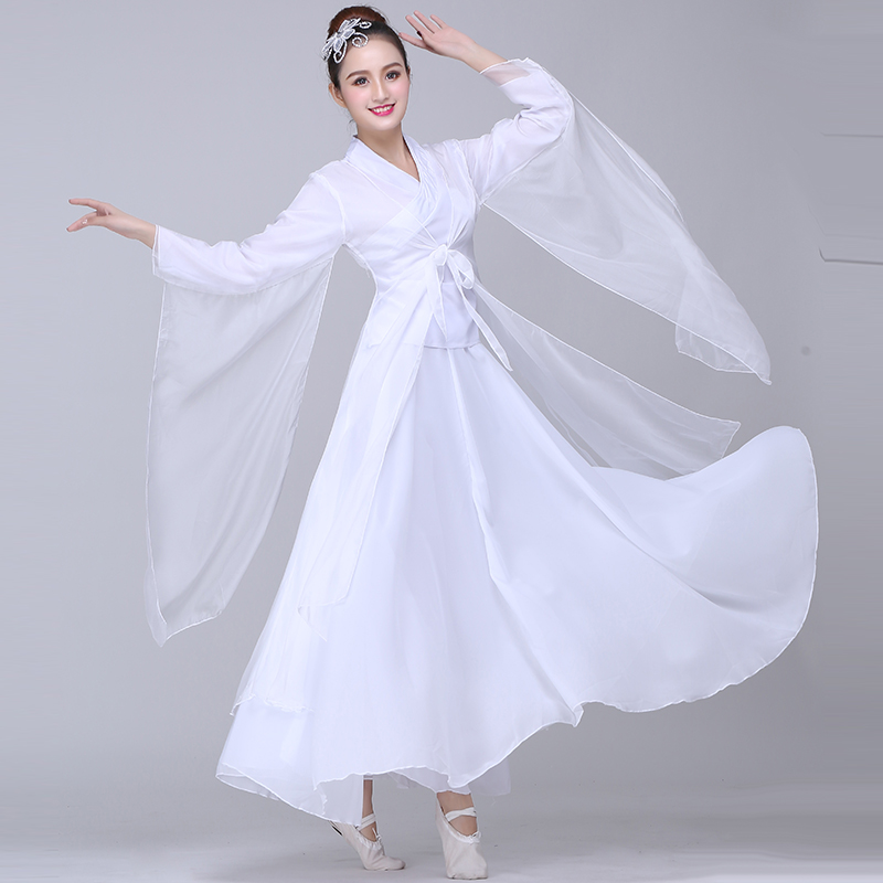 Classical Dance Costumes Female Elegant Chinese Style Fairy Fresh And  Elegant Cool Dance Costume Costume Hanfu Adult