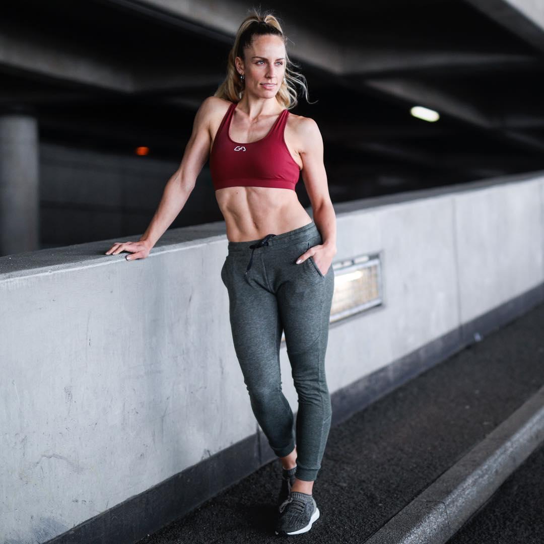 德国专业运动服饰品牌 Gym Aesthetics 女式针织运动长裤 天猫优惠券折后¥69包邮(¥159-90)3色可选