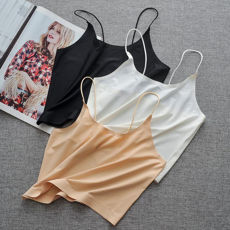 Băng trắng băng lụa băng bó đáy quần với áo lót ngực học sinh nữ sinh trung học chống mỏng mỏng - Ống