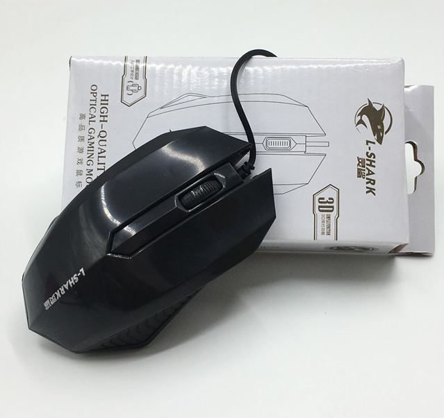 Spirit Shark M11 Ice Wolf Qq Mouse Wired Simple Desktop Computer Pen Electric Mouse Game Office Mouse Usb Mouse