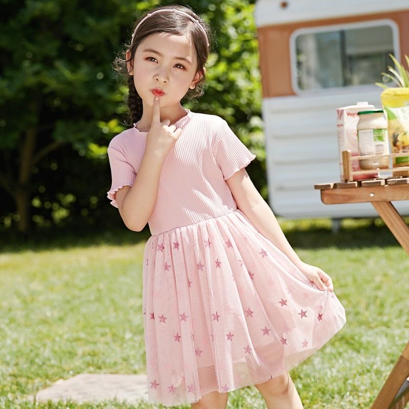 洋氣兒童連衣裙公主裙