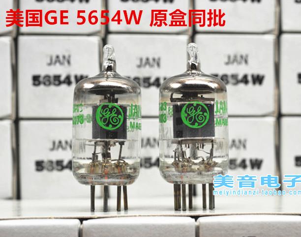 Сша GE 5654W электронный трубка модернизированный 6J1/6 метр 1/EF95/403A/6AK5/403B/CV4010