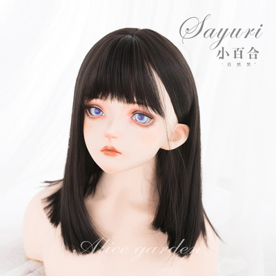 taobao agent Alicegarden wig female net red clavicle hair daily comics bangs natural face repair lolita long straight hair