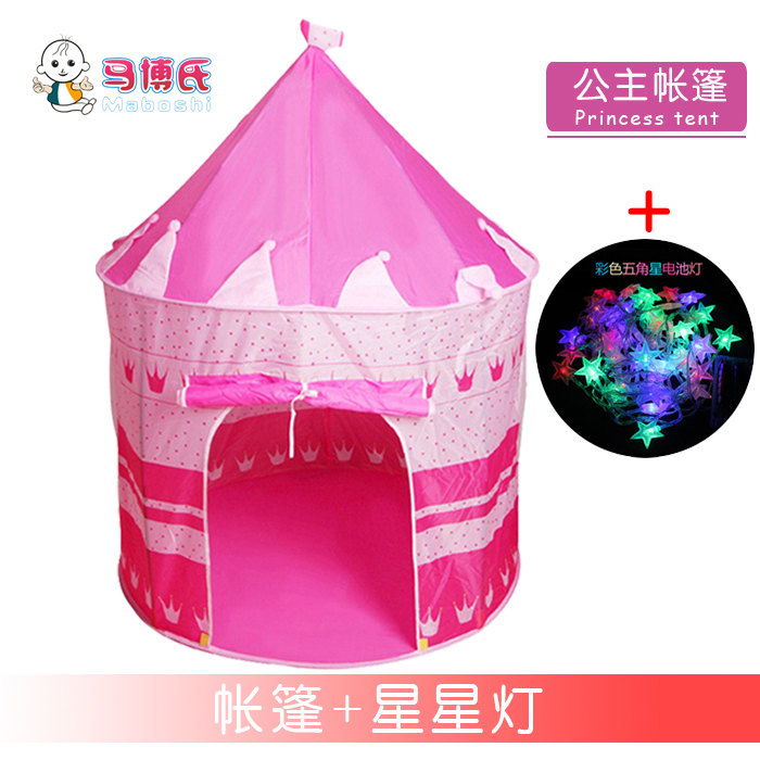 Princess Tent + Star Lights