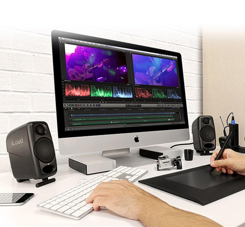 IK iLoud Micro Monitor Desktop 3 inch Bluetooth Audio Studio Studio Active Monitor Loa - Loa loa