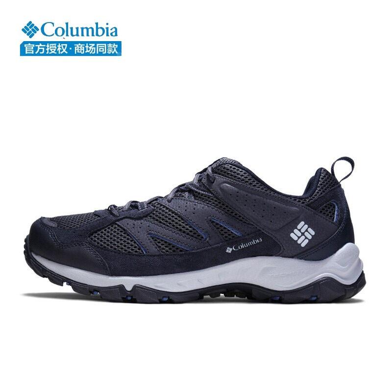 哥伦比亚户外鞋男鞋20春新款户外运动徒步休闲登山鞋透气鞋YM1182