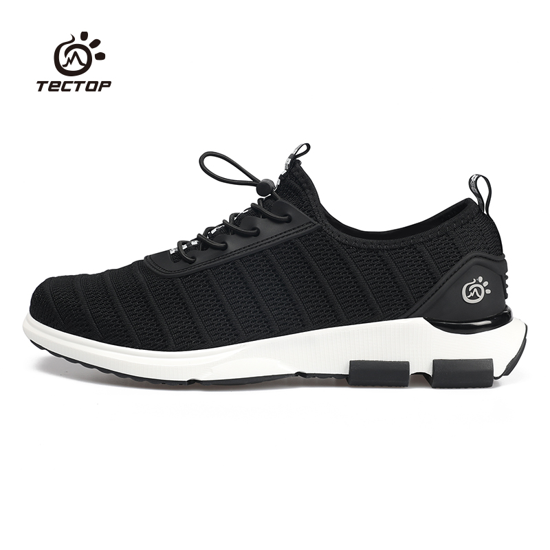 Business casual shoes men's trend hundred outdoor sports shoes a foot lazy shoes light breathable flying woven shoes to explore