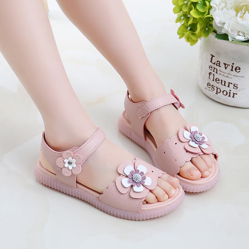 韩版夏季学生儿童女童公主鞋