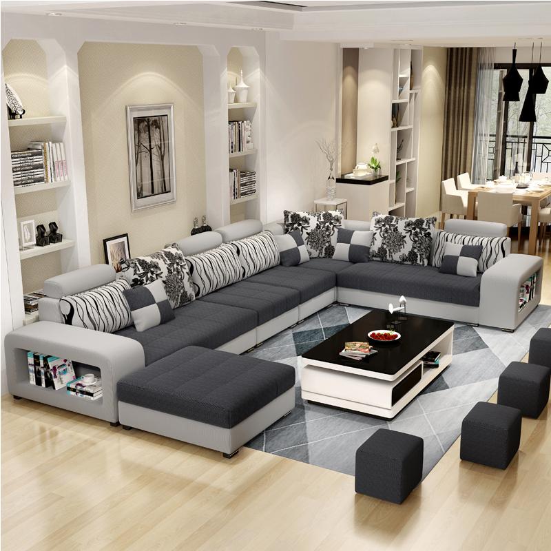 沙发就是慵懒午后的一..