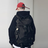 Backpack male hip-hop tide brand functional wind outdoor MYE national tide street large-capacity ins school bag female travel backpack