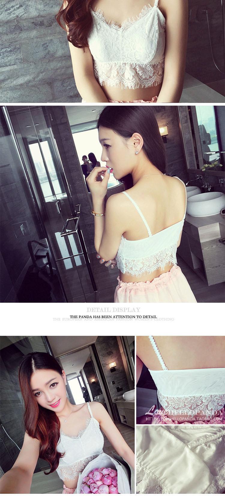 Lace Korea  underwear  (white) NHXW0192-white