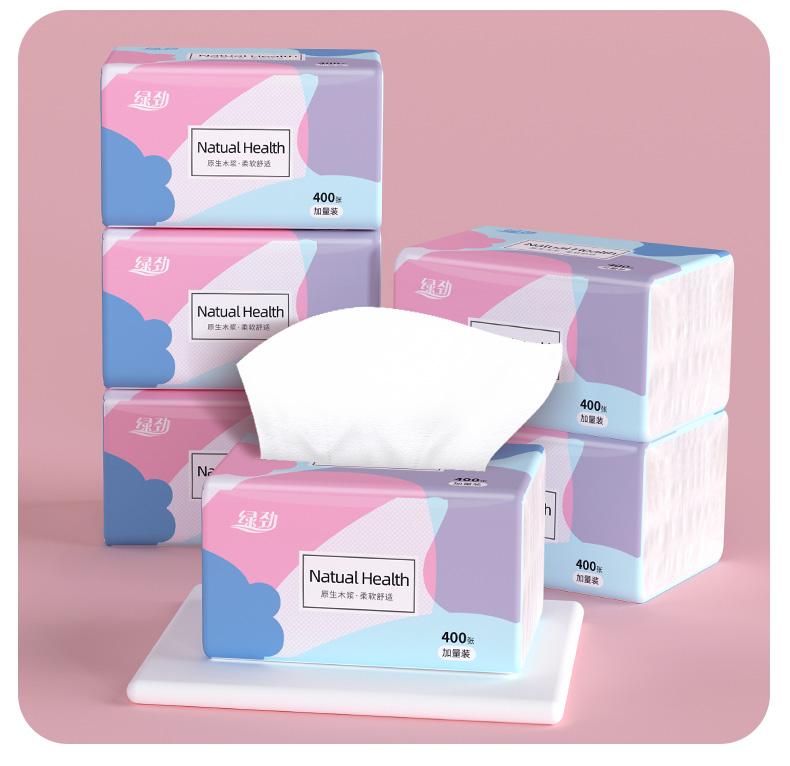 张抽取式卫生纸大包纸巾整箱家庭实惠装卫生纸家用餐巾纸面巾纸卫生纸详细照片