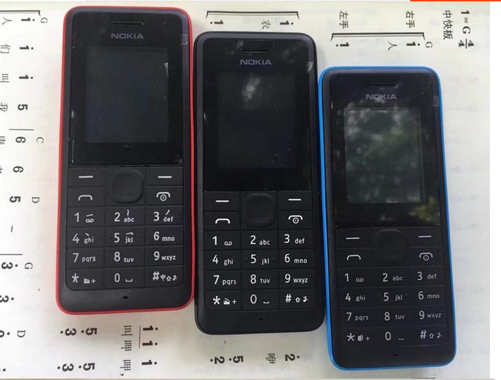 诺基亚 107 双卡双待超长待机经典行货老人学生无上网功能mp3手机