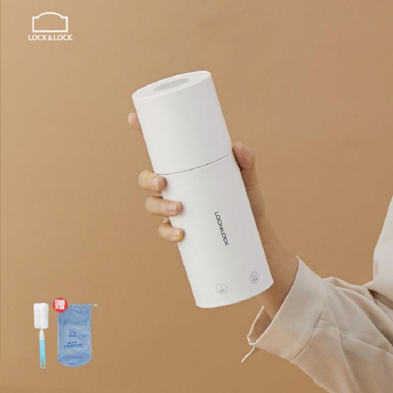 乐扣电热烧水杯多功能便携式烧水壶