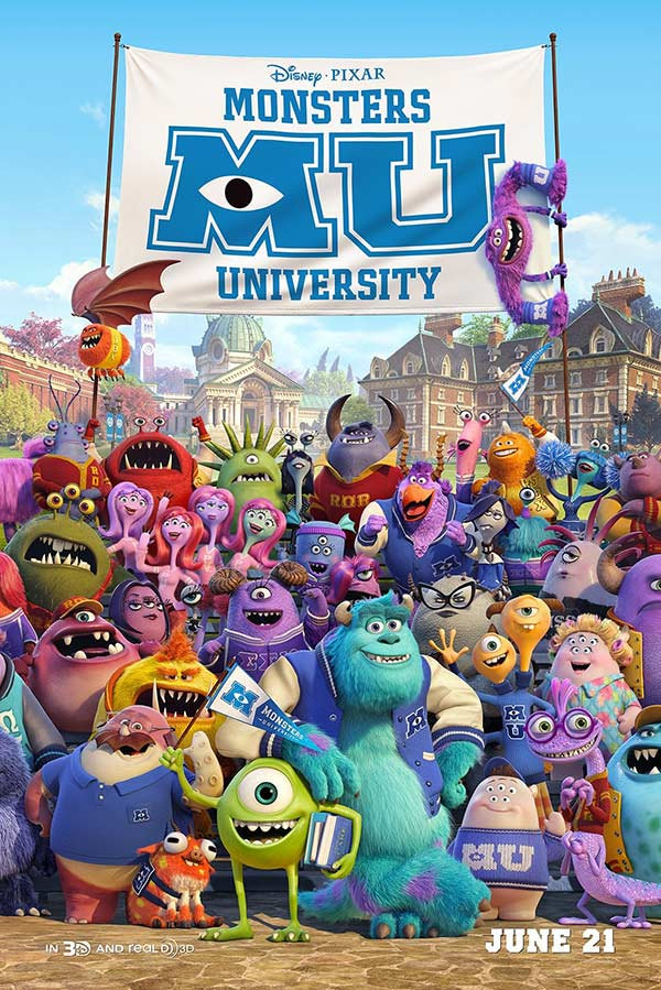 2013 怪兽大学 Monsters University