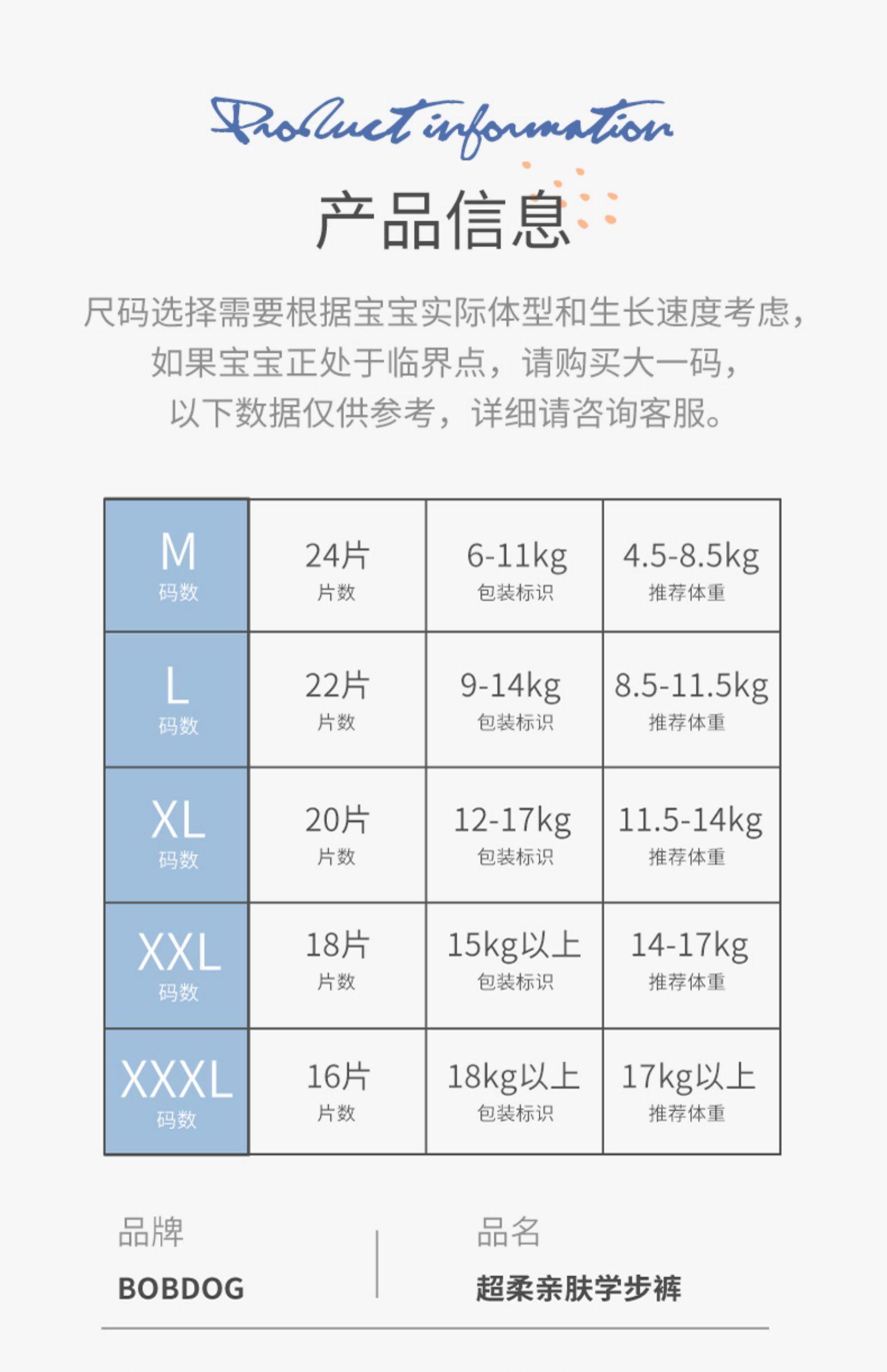 【首单礼金5元】透气超薄纸尿裤拉拉裤