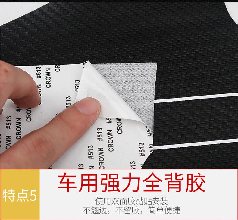 Miếng dán chống trầy bậc cửa Toyota Camry 2018 - 2020 - ảnh 16