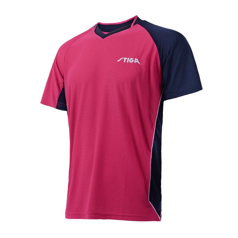 正品STIGA斯蒂卡短袖CA-751比赛训练T恤运动服装斯帝卡乒乓球服