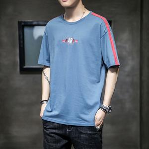 夏季新款韩版潮流纯棉短袖体恤