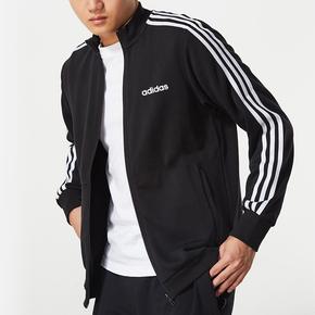 Олимпийки,  Adidas пальто мужчина 2019 новых аутентичных весенний и осенний сезон. случайный куртка классическая ветровка воротник движение куртка, цена 2608 руб
