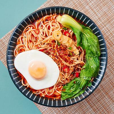 孟非的重庆小面盒装宿舍夜宵早餐干拌豌杂酱面汤面面条速食拉面