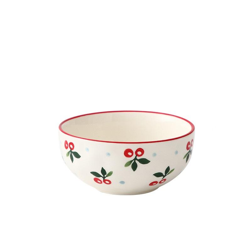 少女心陶瓷碗餐具套装创意个性碗盘