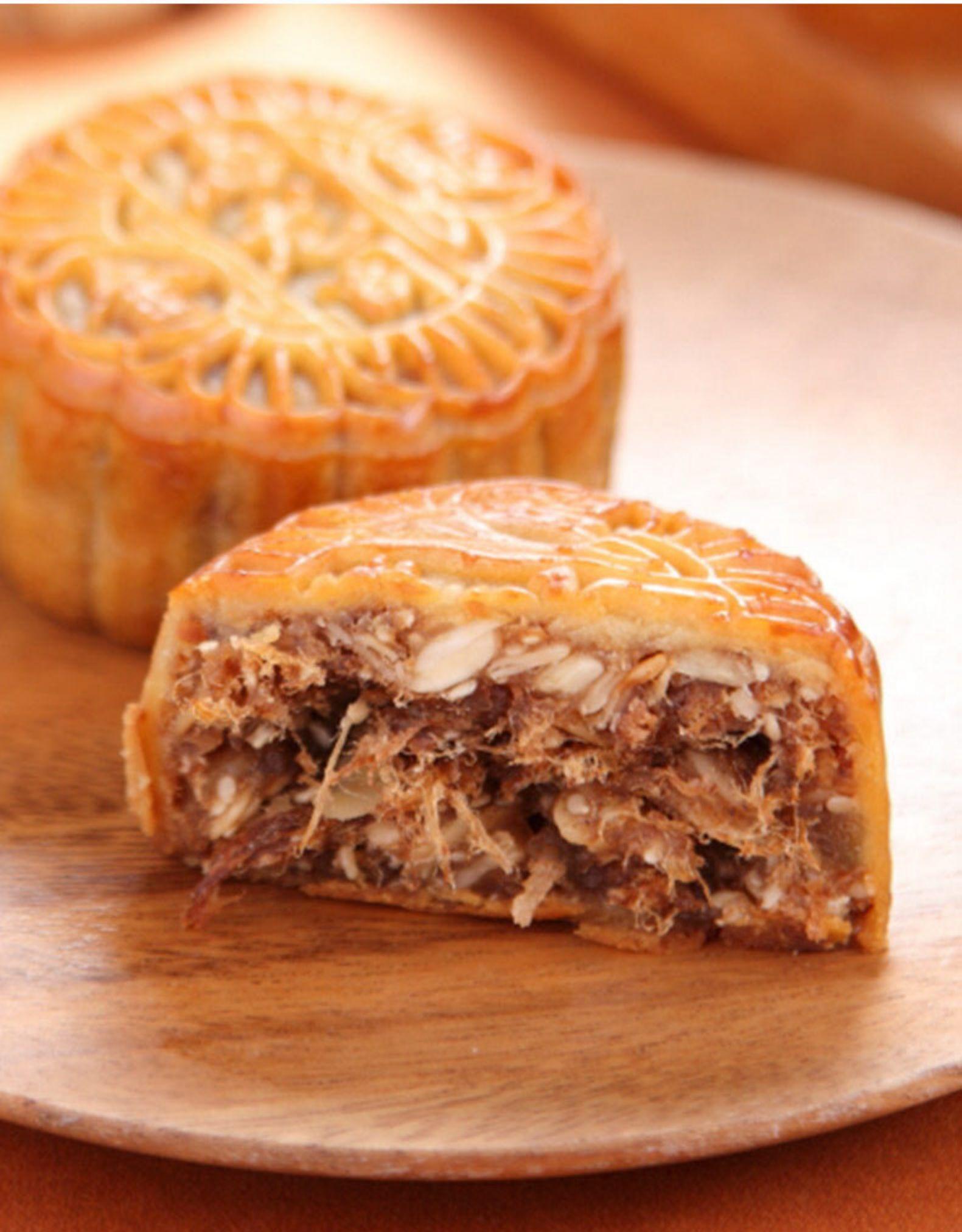 海龙阁散装多口味礼盒鲜肉五仁小金腿月饼,仅需17.8! 18