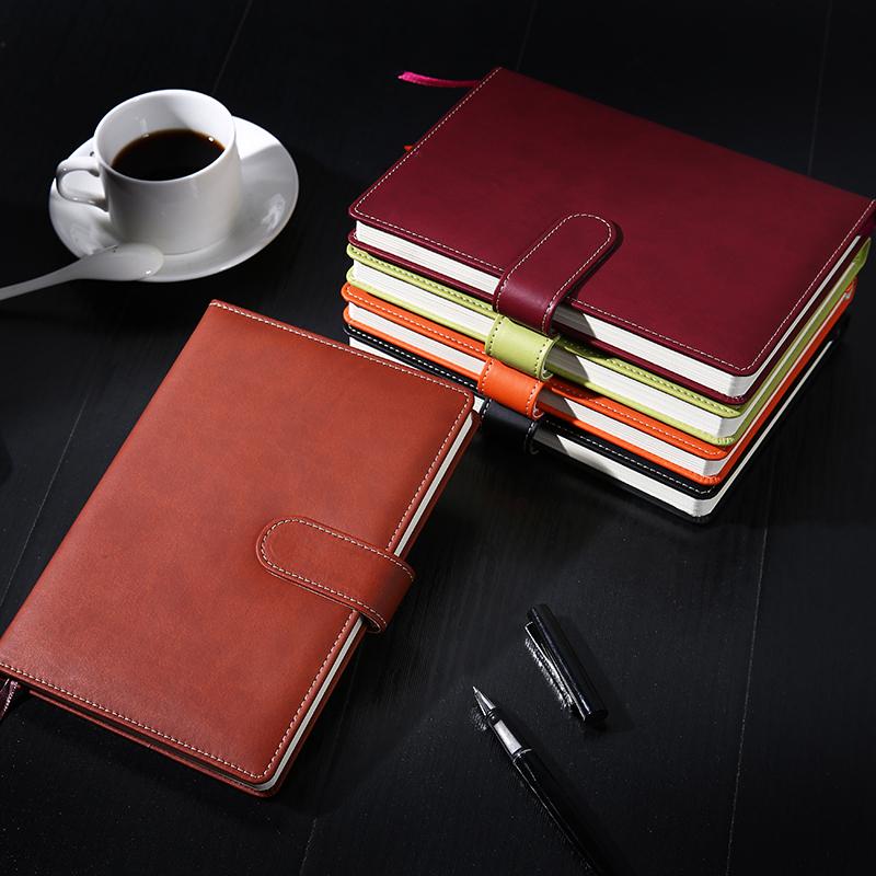 商务皮面加厚A5笔记本优惠价5元销量26934件
