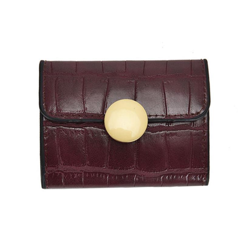 小卡包女2020新款潮韩版短款搭扣风琴小钱夹超薄女式小巧信用卡套
