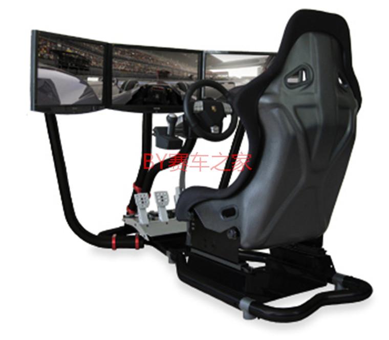 Видеоигры visionracer типа vr3 тройной экран гоночный симулятор g27/т500/fanatec csrcsw гонки кронштейн
